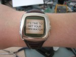 Recycling an old Fossil Abacus WristNet Microsoft watch