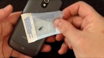 Video demonstrating how to read an 2x12mm Mifare S50 NFC compatible tag with a Samsung Galaxy Nexus